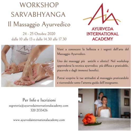 workshop massaggio